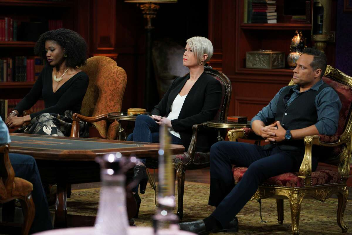 Tiffany McGuire (center) of Milford, Conn. appears on the Jan. 7, 2021 episode of