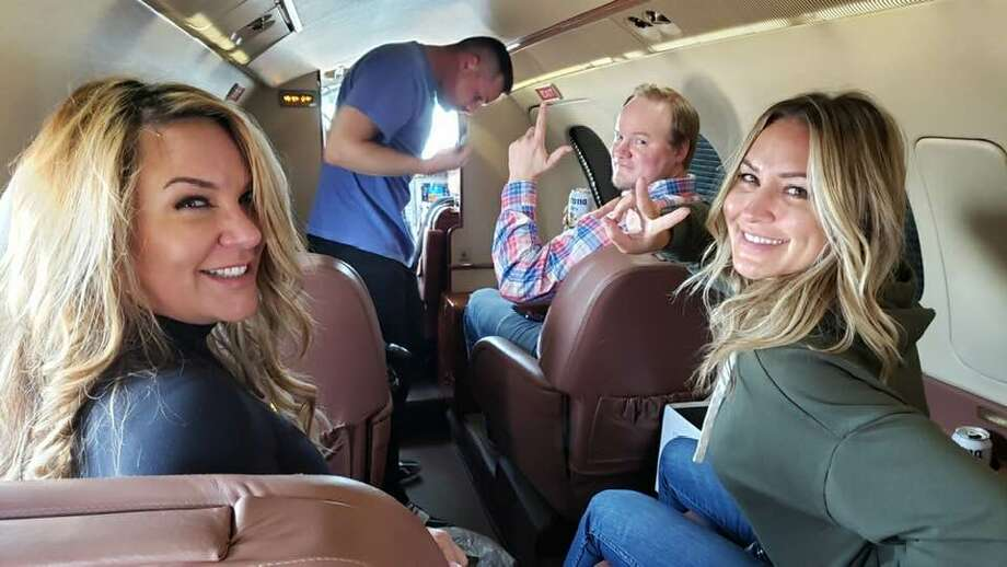 Jenna Ryan took a private plane from north Texas to Washington, D.C. to protest. Photo: Facebook.com/jenna.ryan1