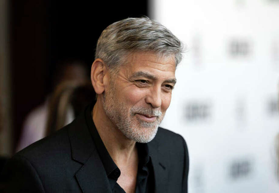 """Actor George Clooney plays Augustine, a dying scientist, in the space thriller titled """"The Midnight Sky."""" Photo: Grant Pollard 