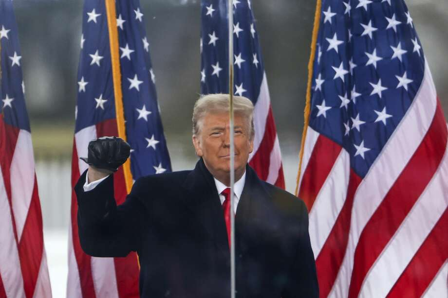 "Featured image: President Donald Trump speaks at the ""Stop The Steal"" Rally on January 06. Photo: Tasos Katopodis/Getty Images / 2021 Getty Images"