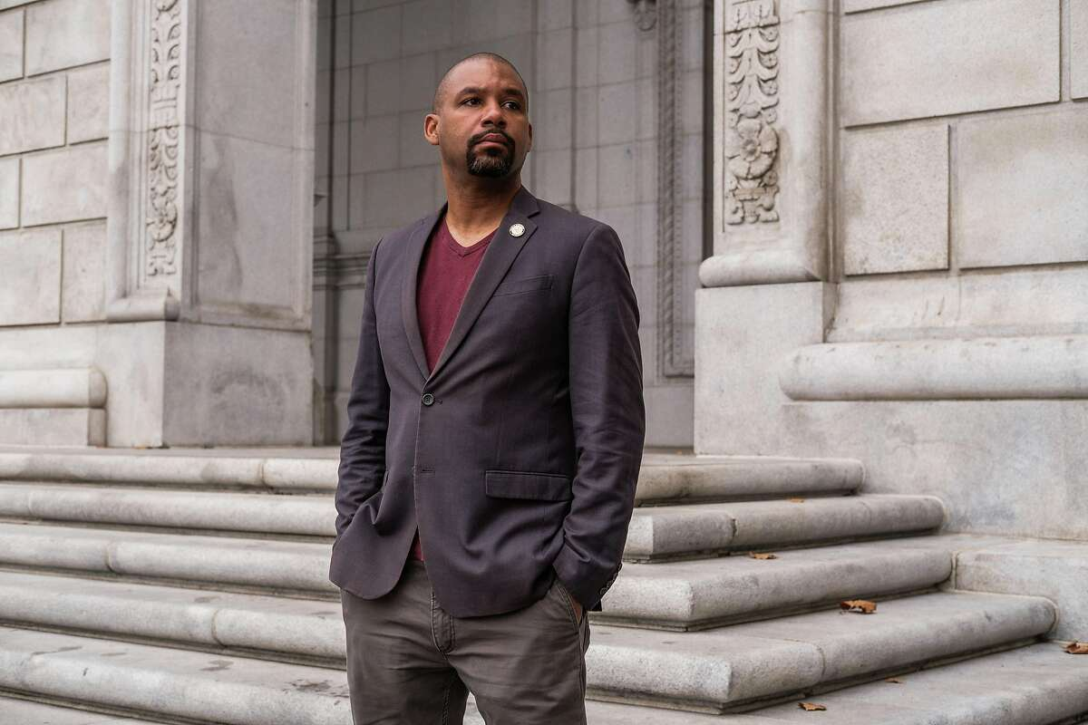 San Francisco Supervisor Shamann Walton is one of the architects of a plan to redistribute law enforcement funding into the city's Black communities, including his hard-hit Bayview district.