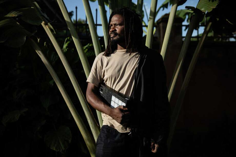 Kenyan producer/musician Disco Vumbi is part of the emerging electronic scene in East Africa. Photo: Byrd Out Limited / Sophie Garcia / Sophie Garcia / Hans Lucas