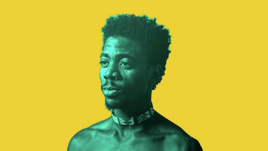 Performer Faizal Mostrixx utilizes traditional Ugandan rhythms in his electronic mix. Photo: Courtesy Byrd Out