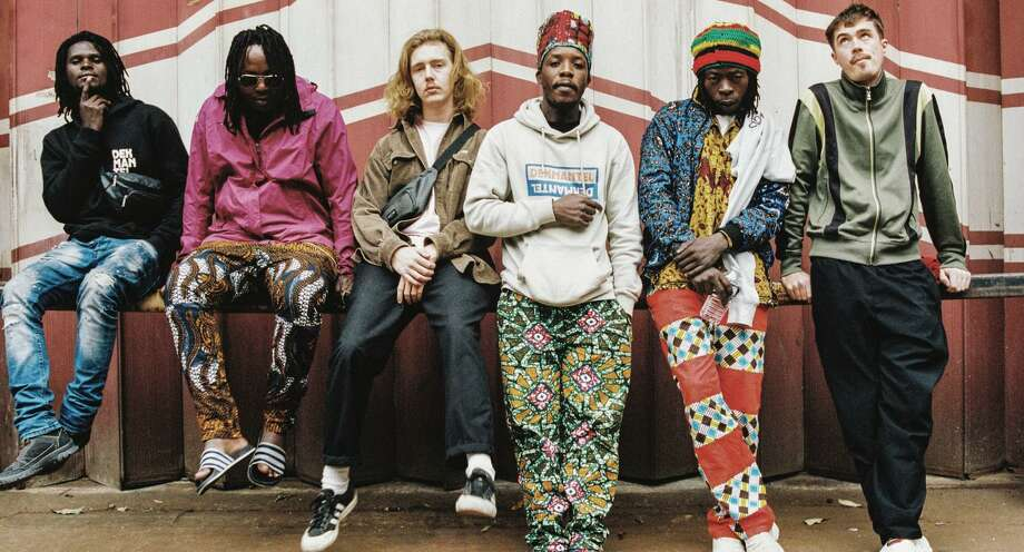 The band Nihiloxica blends traditional Ugandan percussion with electronics. Photo: Crammed Discs