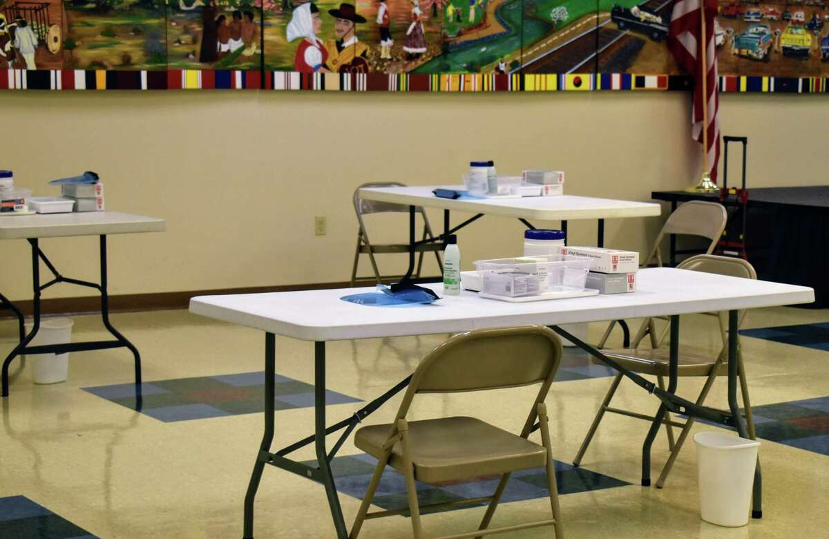 There will be 12 people administering the vaccines at once at the Elvira Cisneros Senior Community Activity Center starting Monday.