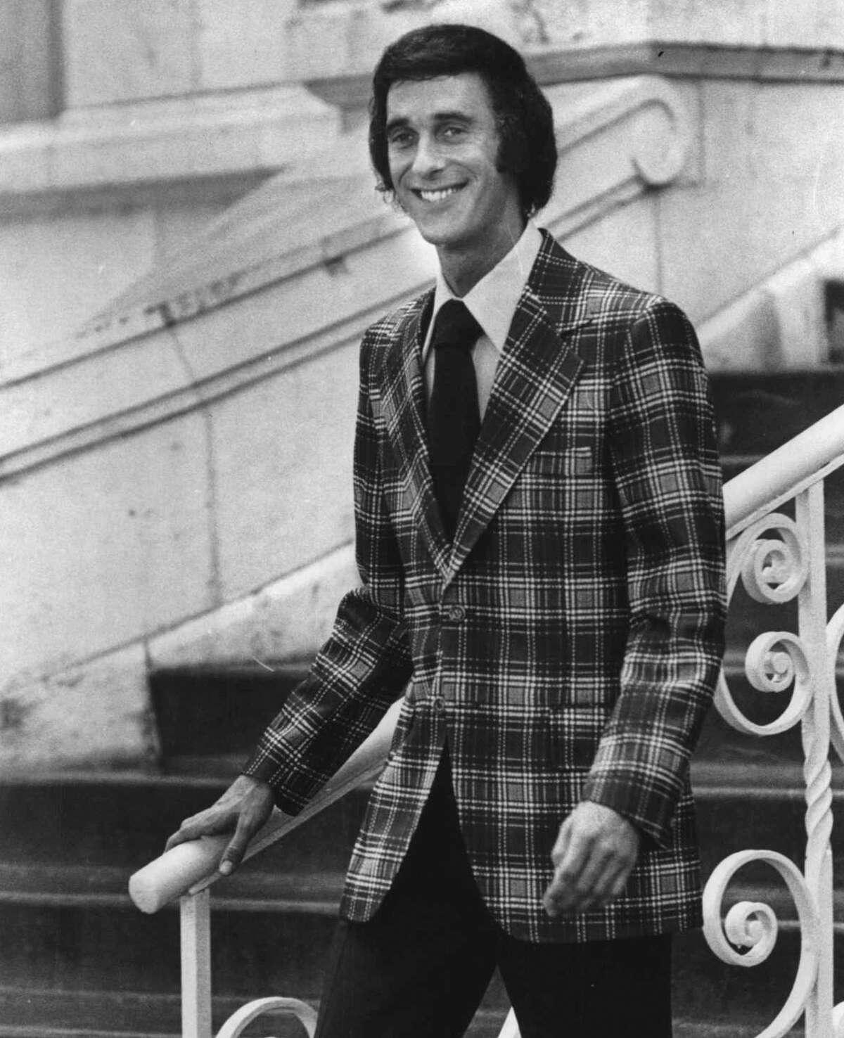 Paul Venema, courthouse reporter for KSAT Channel 12 in 1983.