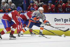 Former Bridgeport Sound Tiger Travis St. Denis has signed a contract to play for Binghamton this season.