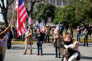President TrumpÕs supporters and Republicans gathered for a legislative priorities rally held by the Republican Party of Texas at the Texas State Capitol on Saturday, January 9, 2021 in Austin, Tx., U.S.