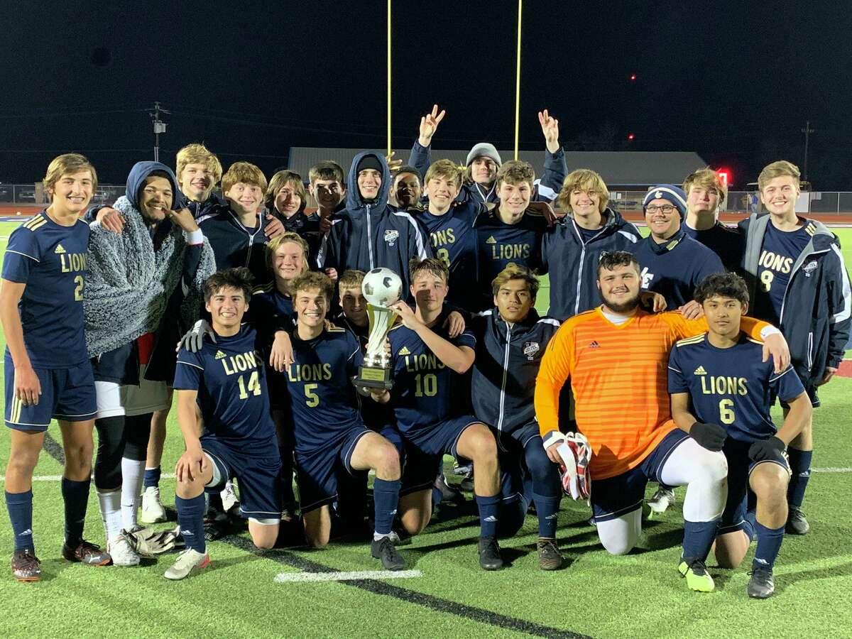 The Lake Creek boys soccer team won the Madisonville tournament on Saturday.