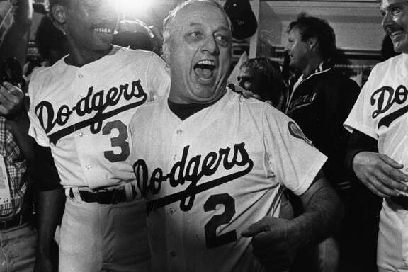 An encounter with the late Tommy Lasorda in 2000 set the stage for the rest of a young journalist's career.