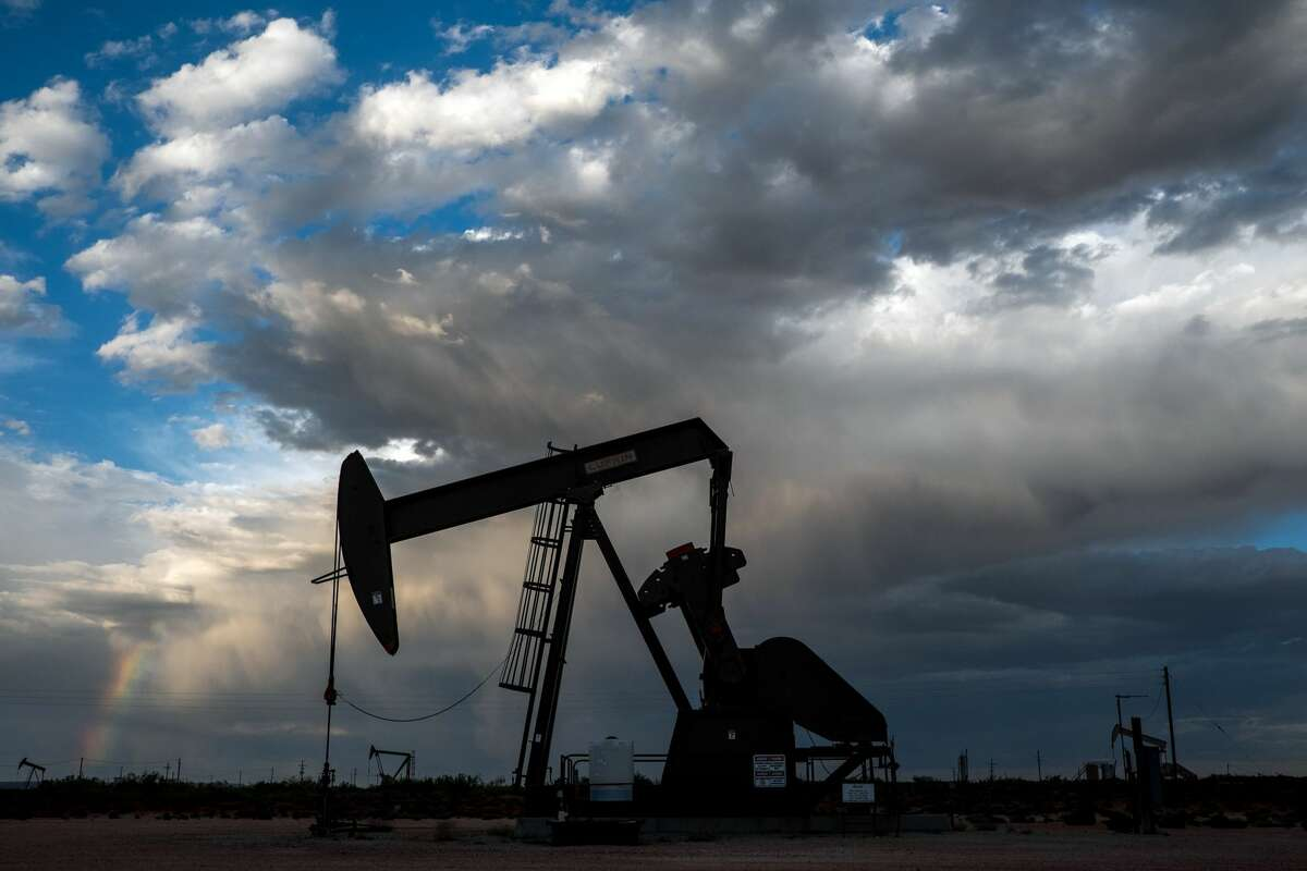 FILE -- An oil well near Loco Hills, N.M. on Aug. 14, 2020. With the acquisition of Concho Resources, ConocoPhillips will become a major player in the world's most lucrative shale field, the Permian Basin. (Joel Angel Juarez/The New York Times)