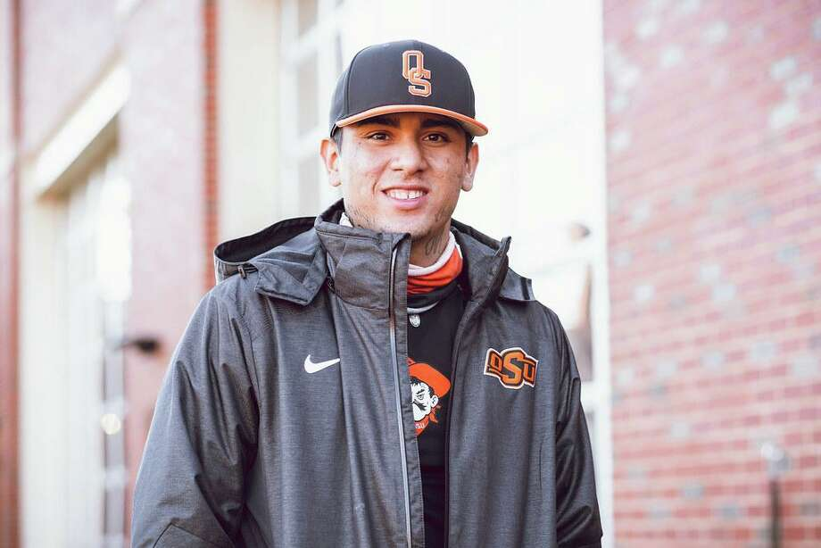"""Former Alexander pitcher Francisco """"Paco"""" Hernandez is in his first season at Oklahoma State. Photo: Courtesy Of Oklahoma State Athletics"""
