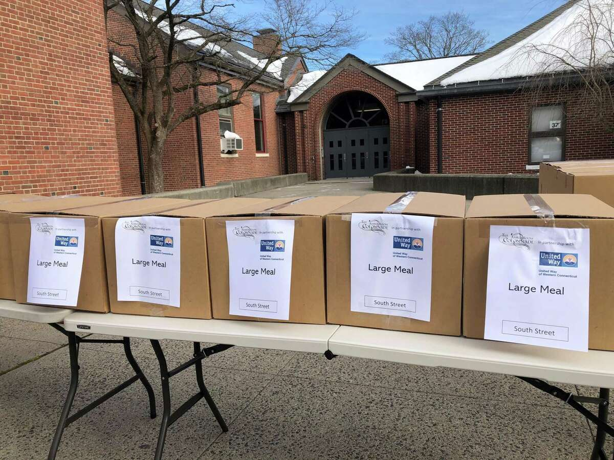 United Way of Western Connecticut distributed meals and toys over the holiday season.