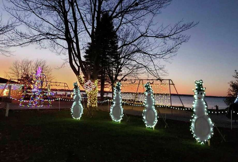 Sparkle in the Park won first place among nonprofits in the Manistee Area Chamber of Commerce's inaugural Manistee County Community Christmas event. (File photo)