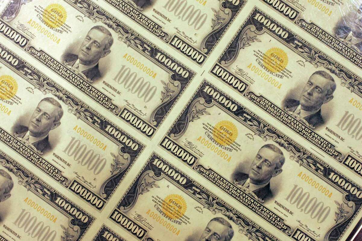 An uncut sheet of $100,000 gold certificates series, (1934), are at a U.S. Department of the Treasury Bureau of Engraving and Printing booth in a previous year. The free, full-service IRS Volunteer Tax Assistance, (VITA), Program with special attention to seniors, and low to moderate income households, will again be available for the New Canaan community in the near future. Visit VirtualVita.org, for questions, and complete information about the program or get started at: https://form.jotform.com/Pgentile46336/newcanaan.