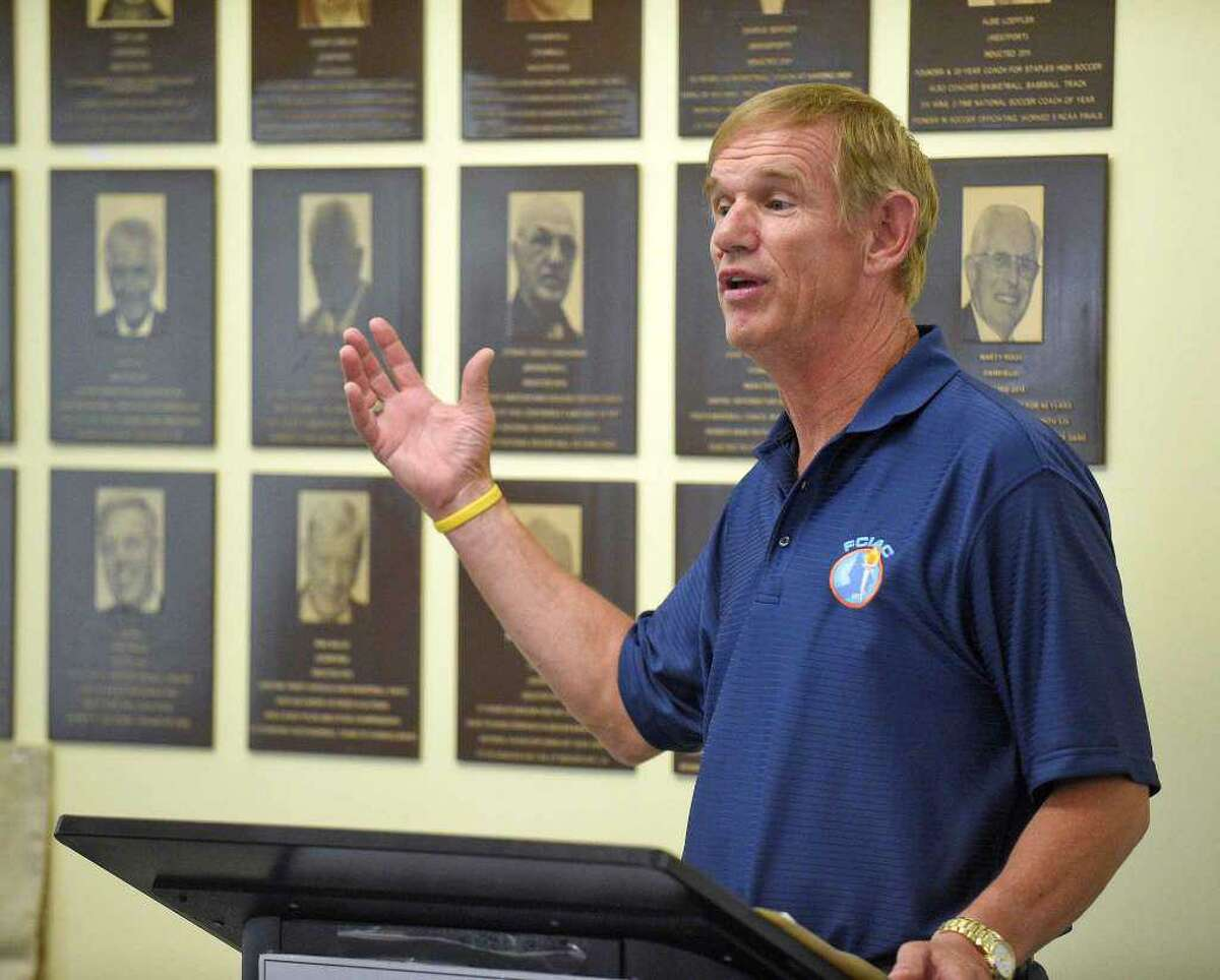 FCIAC Commissioner Dave Schulz said the FCIAC will go back to a two-division setup for basketball.