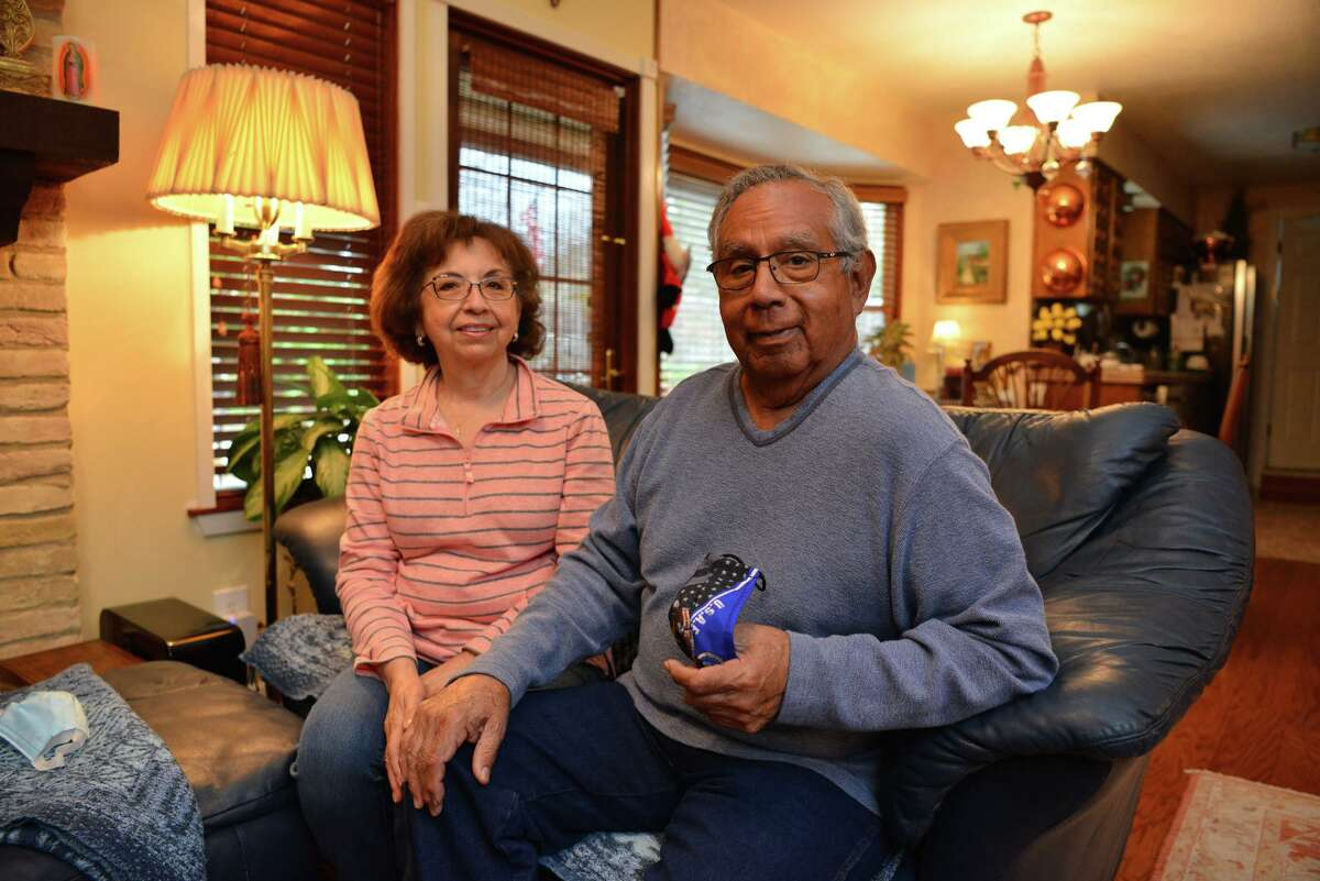 Robert Renteria and his wife, Cynthia, both of whom had COVID-19, are participating in a UT Health San Antonio study of the neurological effects of the coronavirus.