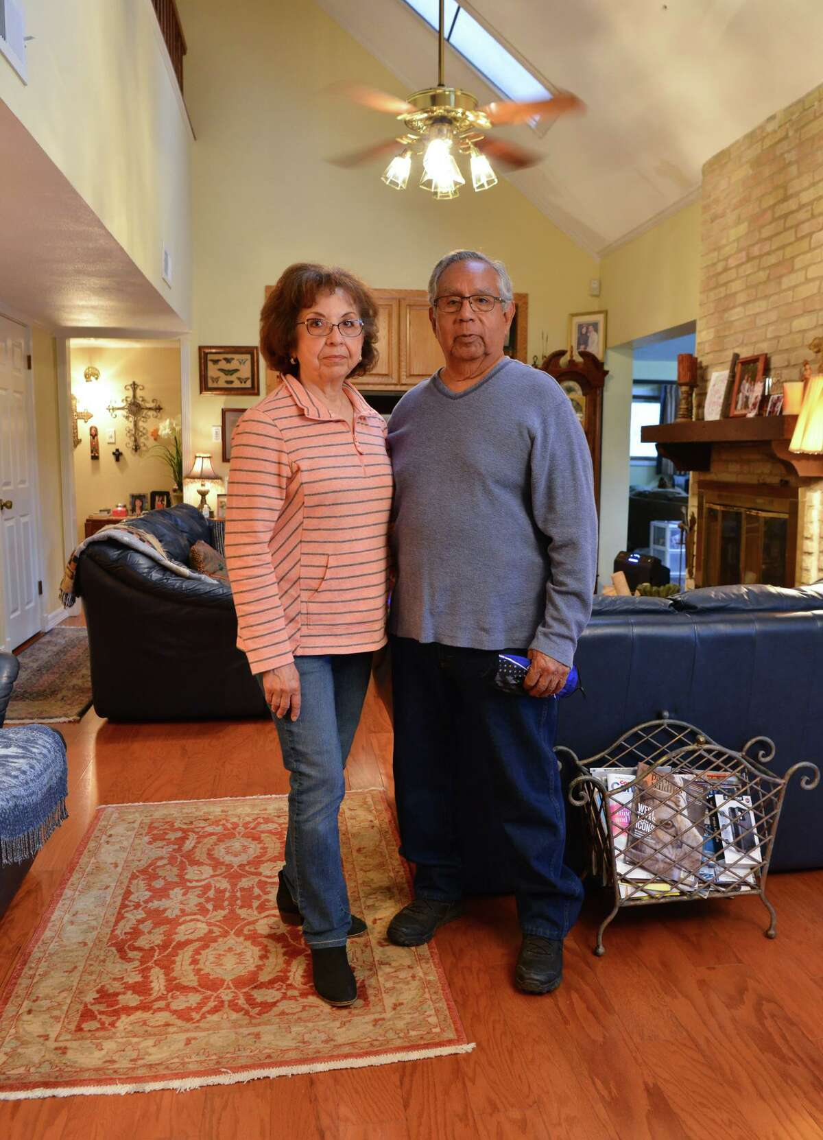 Robert Renteria and his wife, Cynthia, of San Antonio, both had COVID-19 in the summer. They are participating in a global study of the neurological effects of the coronavirus. Leading the study is the Glenn Biggs Institute for Alzheimer's and Neurodegenerative Diseases at UT Health San Antonio.