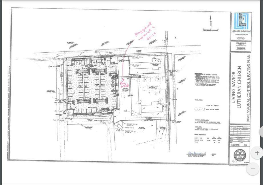 Living Savior Lutheran Church plans to install a new outdoor playground in the historic district. The city of Montgomery's Planning and Zoning Commission voted on Tuesday during its regular meeting to allow the church to move forward with the project at 309 Pond Street. Photo: Submitted Photo / Submitted Photo