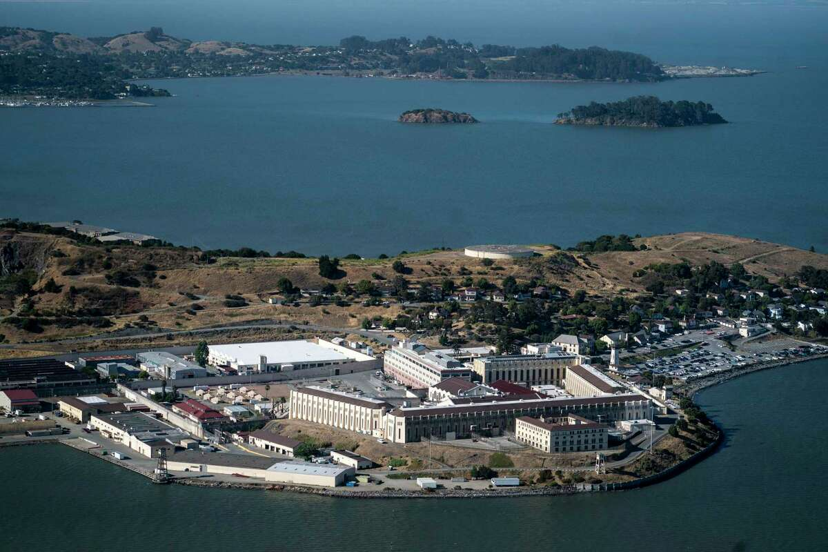 San Quentin Prison in California is pictured on July. President-elect Joe Biden wants to establish a $20 billion grant program that would incentivize states to shift from incarcerating offenders to addressing the underlying causes of crime.