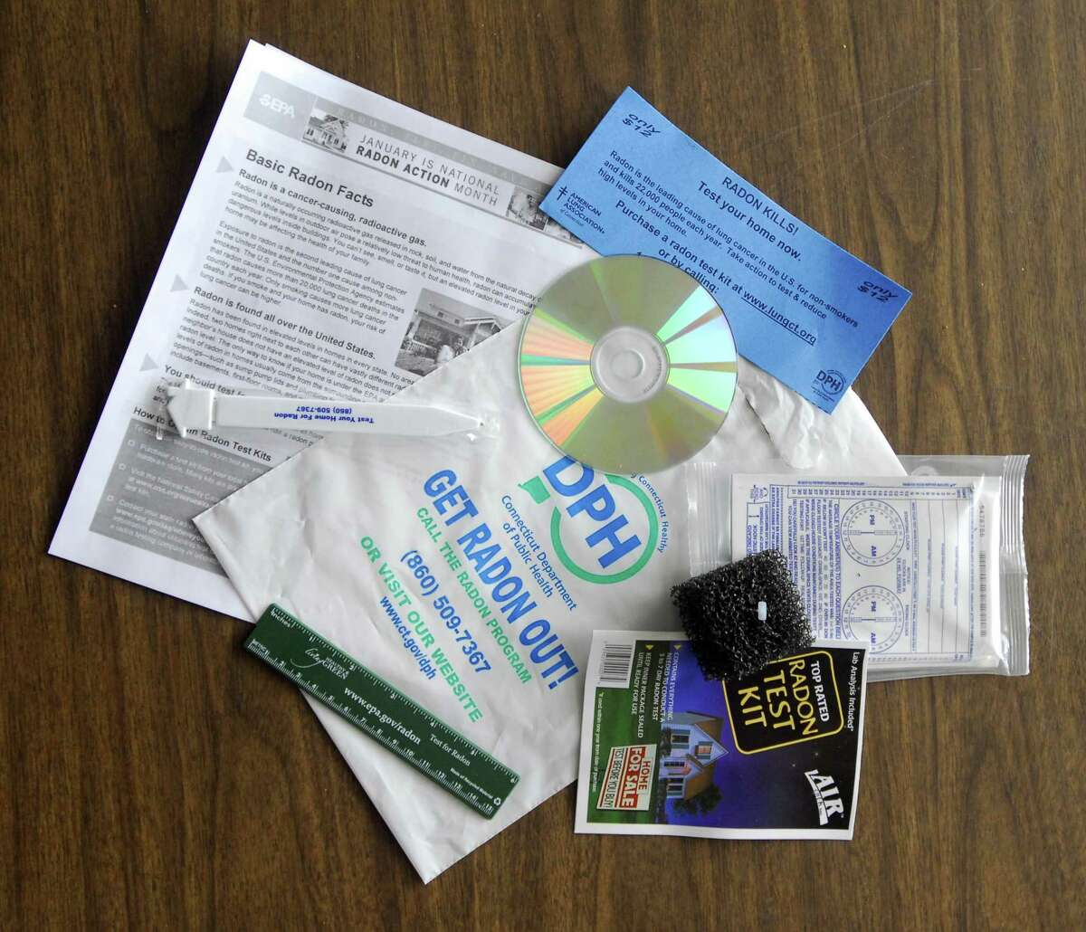 The Middletown Health Department is distributing free radon home testing kits during January, which is National Radon Action Month.