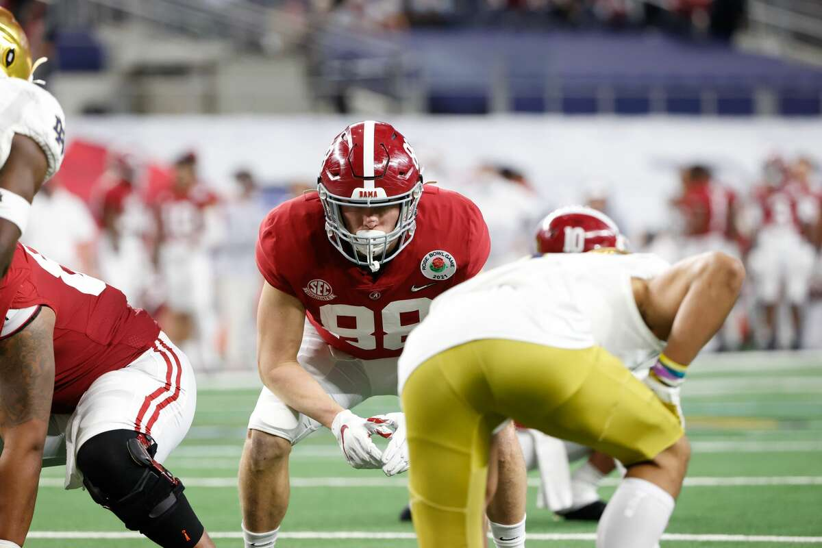 Major Tennison plays a lot on special teams for the Crimson Tide.