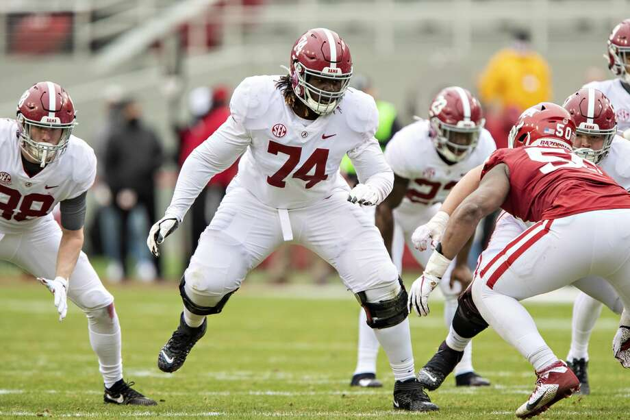 Damieon George is thought to have a bright future with Alabama. Photo: Wesley Hitt/Getty Images / 2020 Wesley Hitt