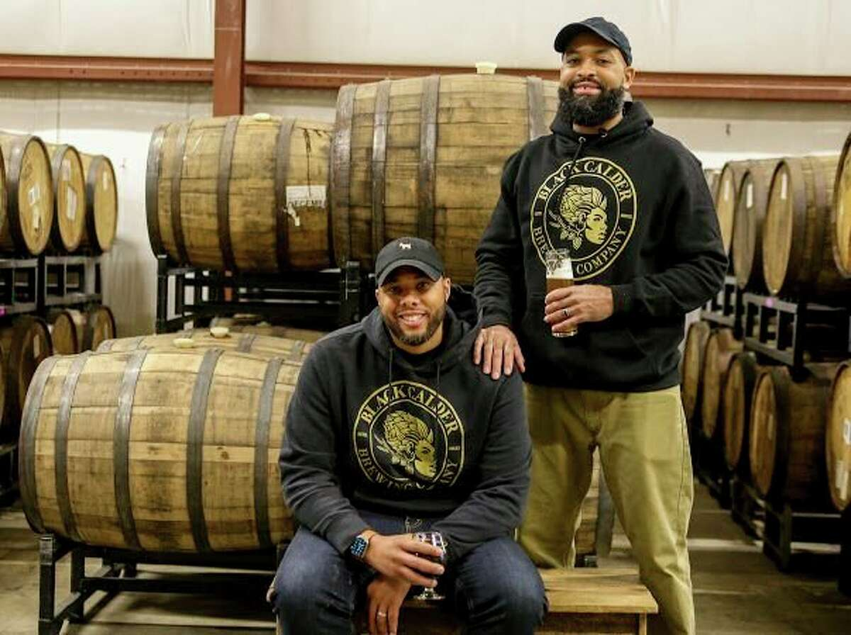 Thanks to the vision and dogged determination of Terry Rostic and Jamaal Ewing, the state now has what it has been sorely lacking in this burgeoning industry: a black-owned brewery, Black Calder Brewing Company. (Photo Provided)