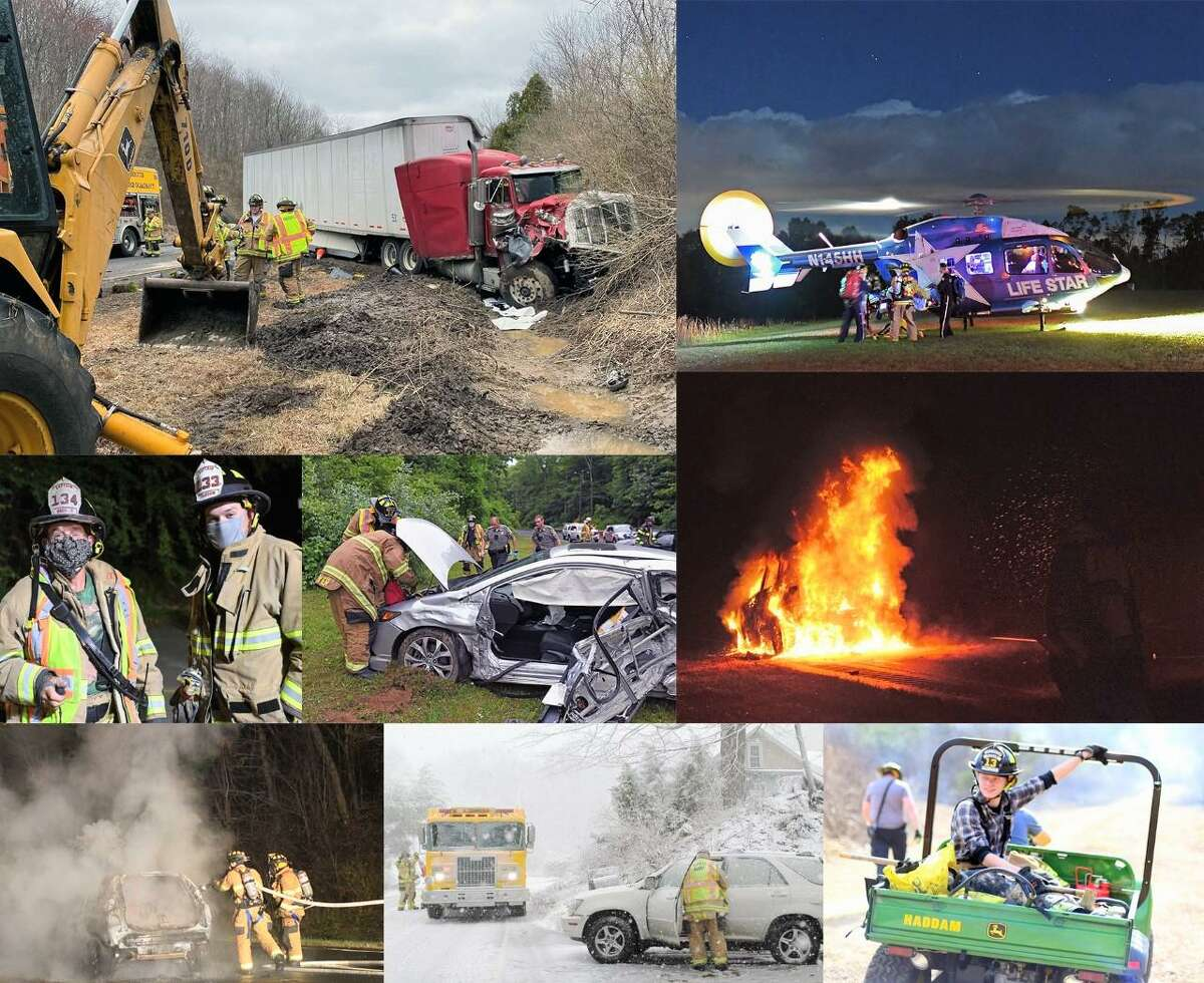 In 2020, members of the Haddam Volunteer Fire Co. responded to a total of 463 calls for emergency services.