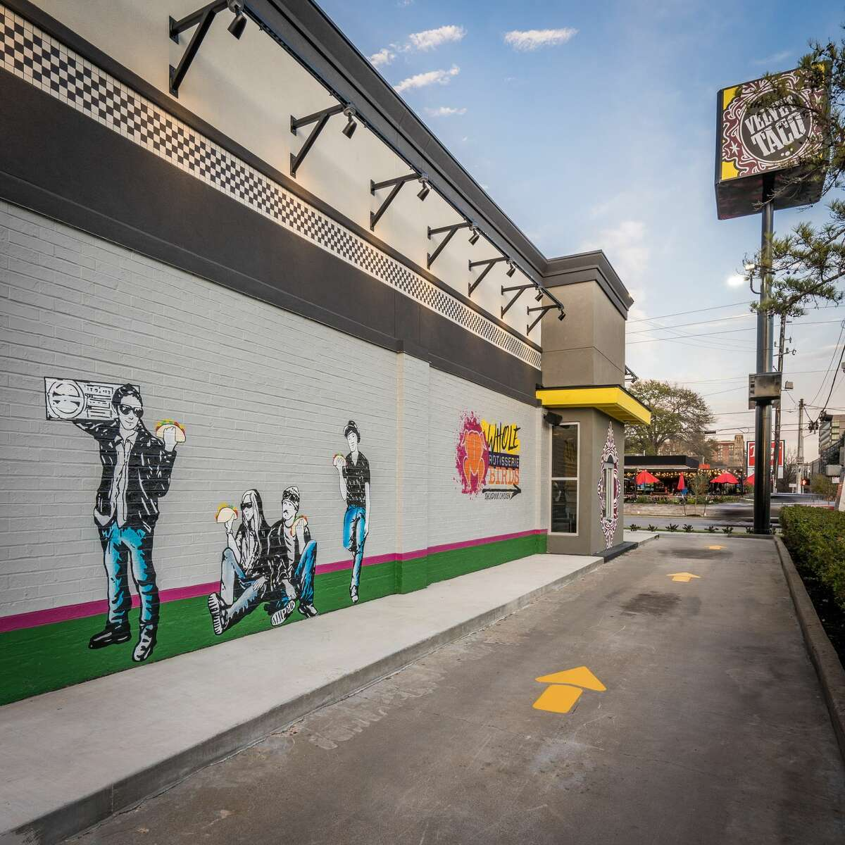 Velvet Taco opened a new location at 2001 N. Shepherd Drive in the Heights.