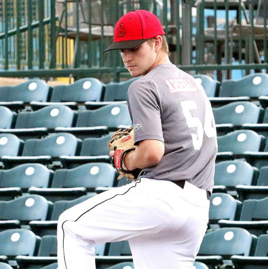 Parker Johnson of Breese Mater Dei and a Missouri State University recruit, has signed to play for the Alton River Dragons next summer. Johnson is a 6-3 right-handed pitcher. Photo: File Photo