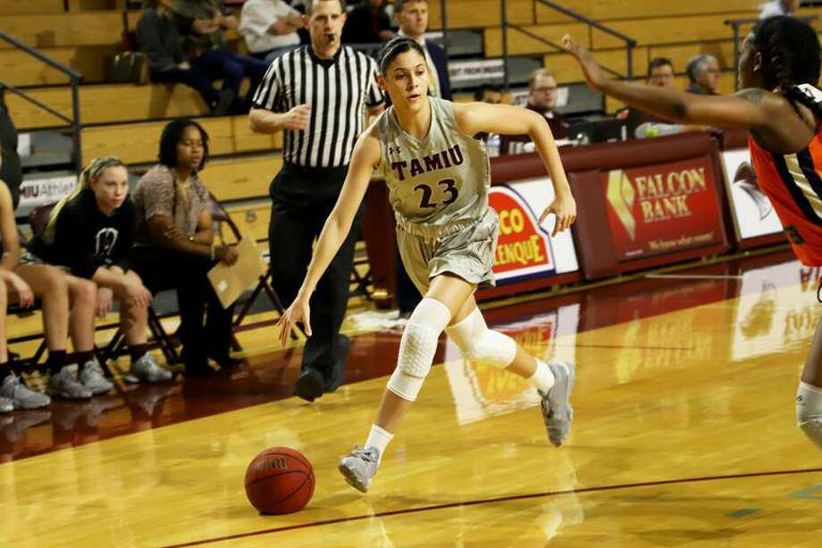 Nicole Heyn recorded a double-double in TAMIU's win over Kentucky State Sunday. Photo: Courtesy Of TAMIU Athletics