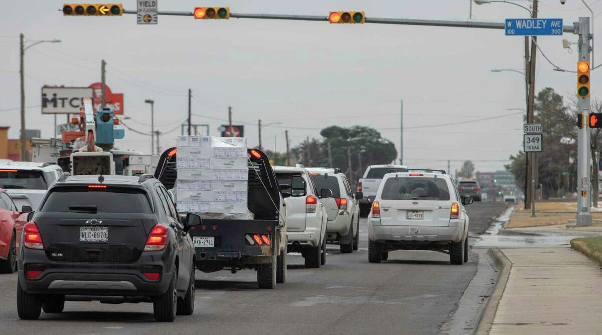 Driving 101, right turn. 01/11/2021 Tim Fischer/Reporter-Telegram