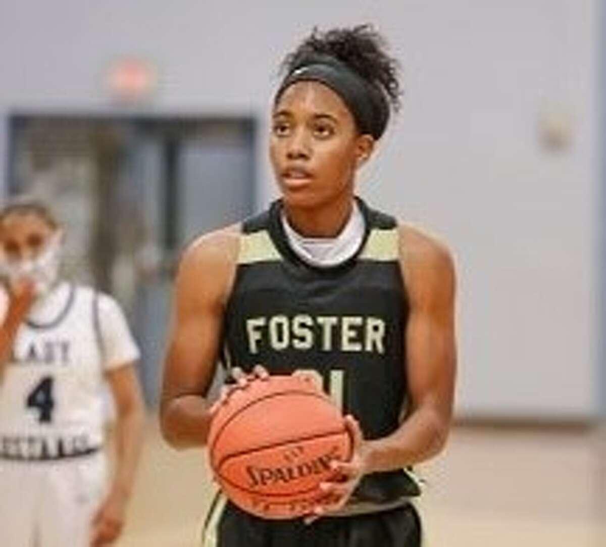 Foster High School basketball player Kaiya Wynn.