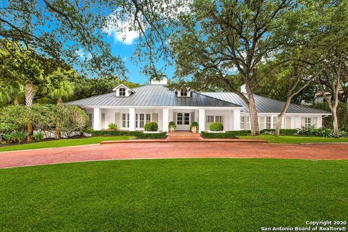 Luxury homes are plentiful within the San Antonio city limits, in neighborhoods like Olmos Park, Terrell Hills, Alamo Heights and Hollywood Park.