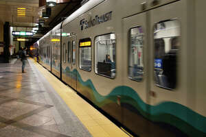 SEATTLE, WA - MARCH 16: Sound Transit Link Light Rail has less passengers than normal during the morning commute on March 16, 2020 in Seattle, Washington. Many employees are working form home in an effort to stem the spread of the highly contagious coronavirus, (COVID-19). (Photo by Karen Ducey/Getty Images)