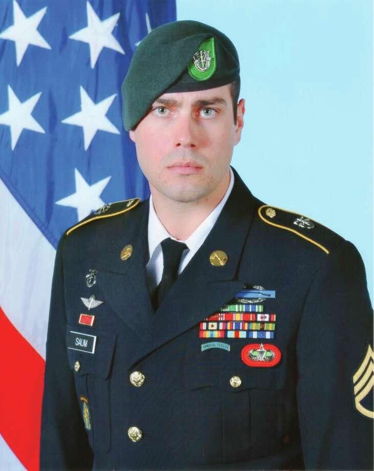 Army Master Sergeant Jeffrey Saum