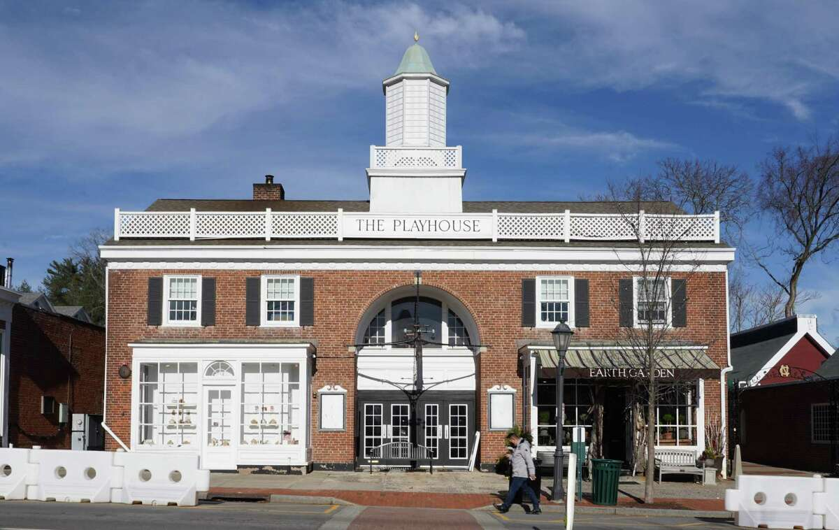 Improvements to the New Canaan Playhouse movie theater at 80 Elm St. is on a long list of ways to spend the $3.5 Million in ARPA money. Marquees are empty and only the playhouse sign is left after the town terminated the lease with Bow Tie Cinema. The town is looking for someone to operate the theater once it is fixed.