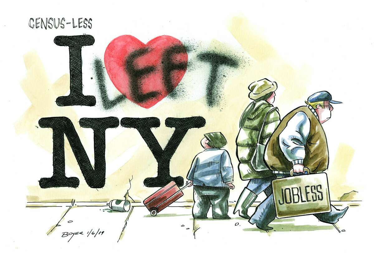 Illustration by Jeff Boyer, Times Union.