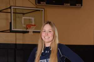 Gabby Elliott is a junior center/forward for Smithson Valley.