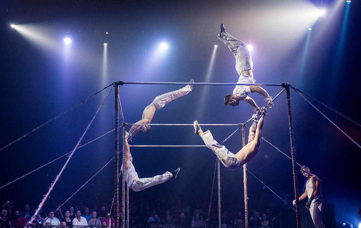 Paranormal Cirque blends horror, theatrics and burlesque.