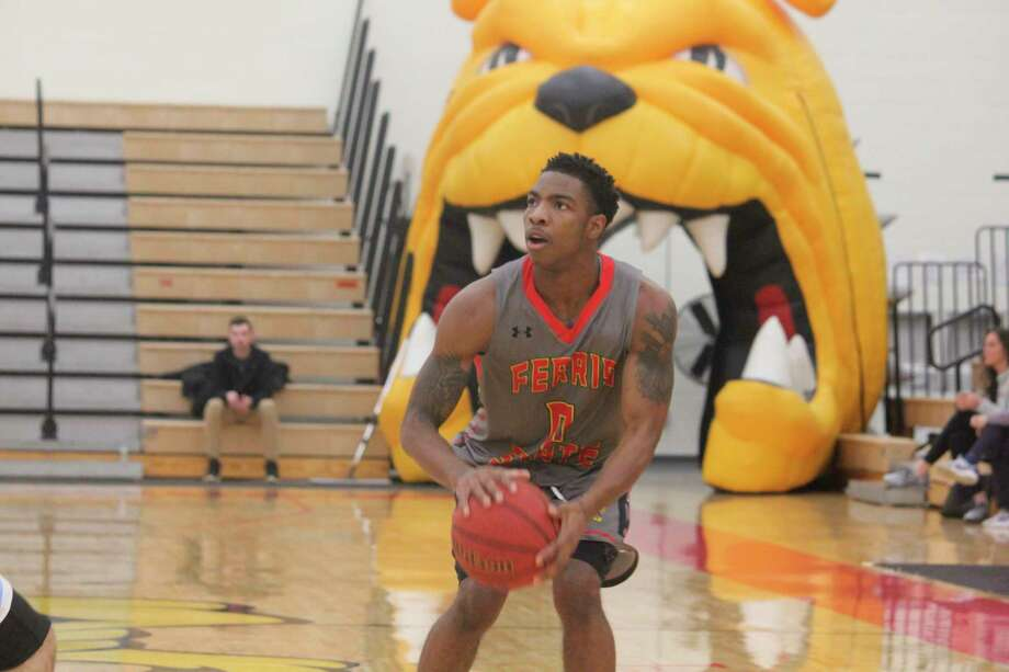 Ferris' basketball team is set to be on the road this weekend. (Pioneer file photo)