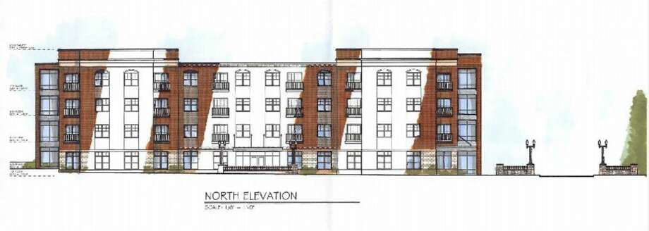 There is a new four-story building planned for 443 Water St. with 46 apartments. Amor Sign Studio former occupied space on the property. (Courtesy photo)