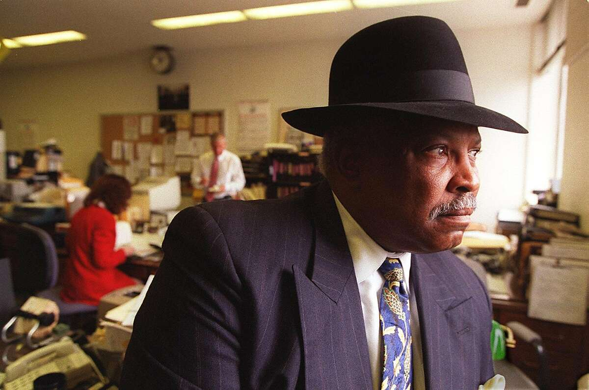 Assistant Chief of Police at SFPD, Earl Sanders investigated the 101 California shootings July 1, 1993, when he was in the homicide unit. Sanders, who would later be elevated to chief of police, died Monday, Jan. 11, 2021.