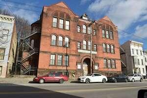 Building at 165 Clinton Ave. on Thursday, Jan. 7, 2021 in Albany, N.Y. (Lori Van Buren/Times Union)