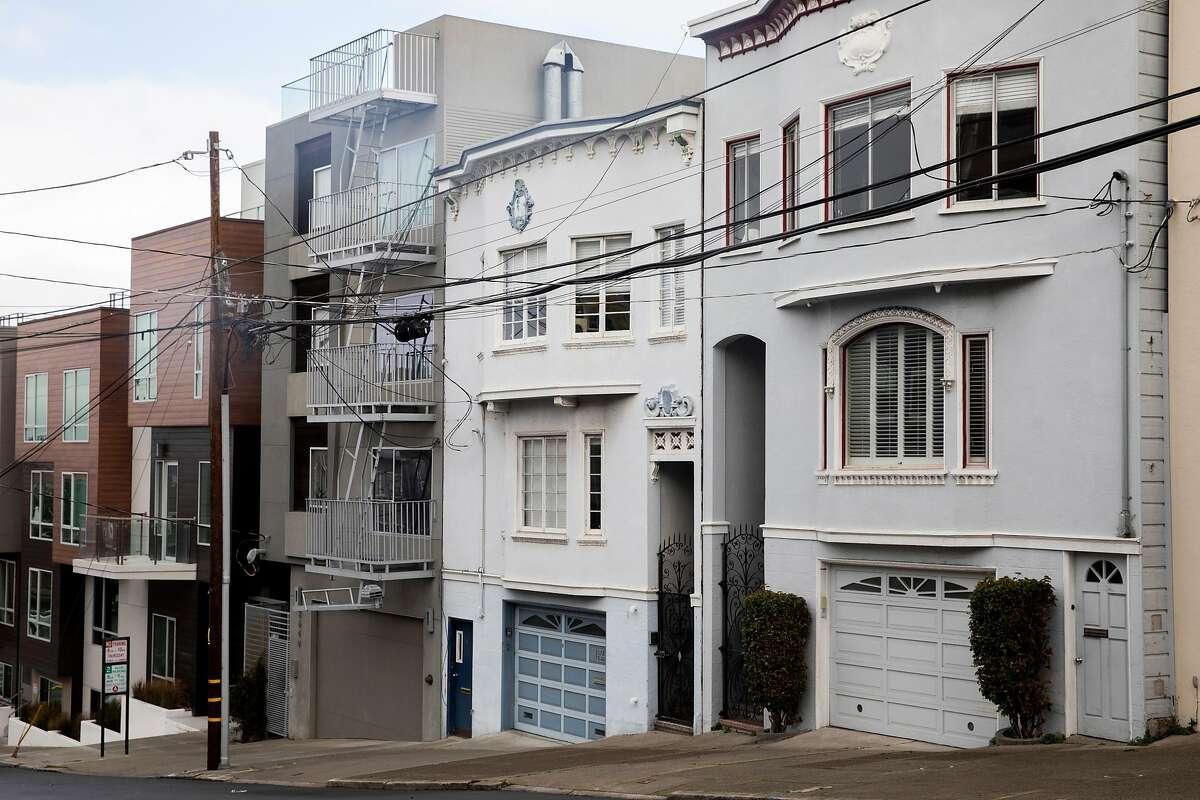 Homes in San Francisco, Calif.