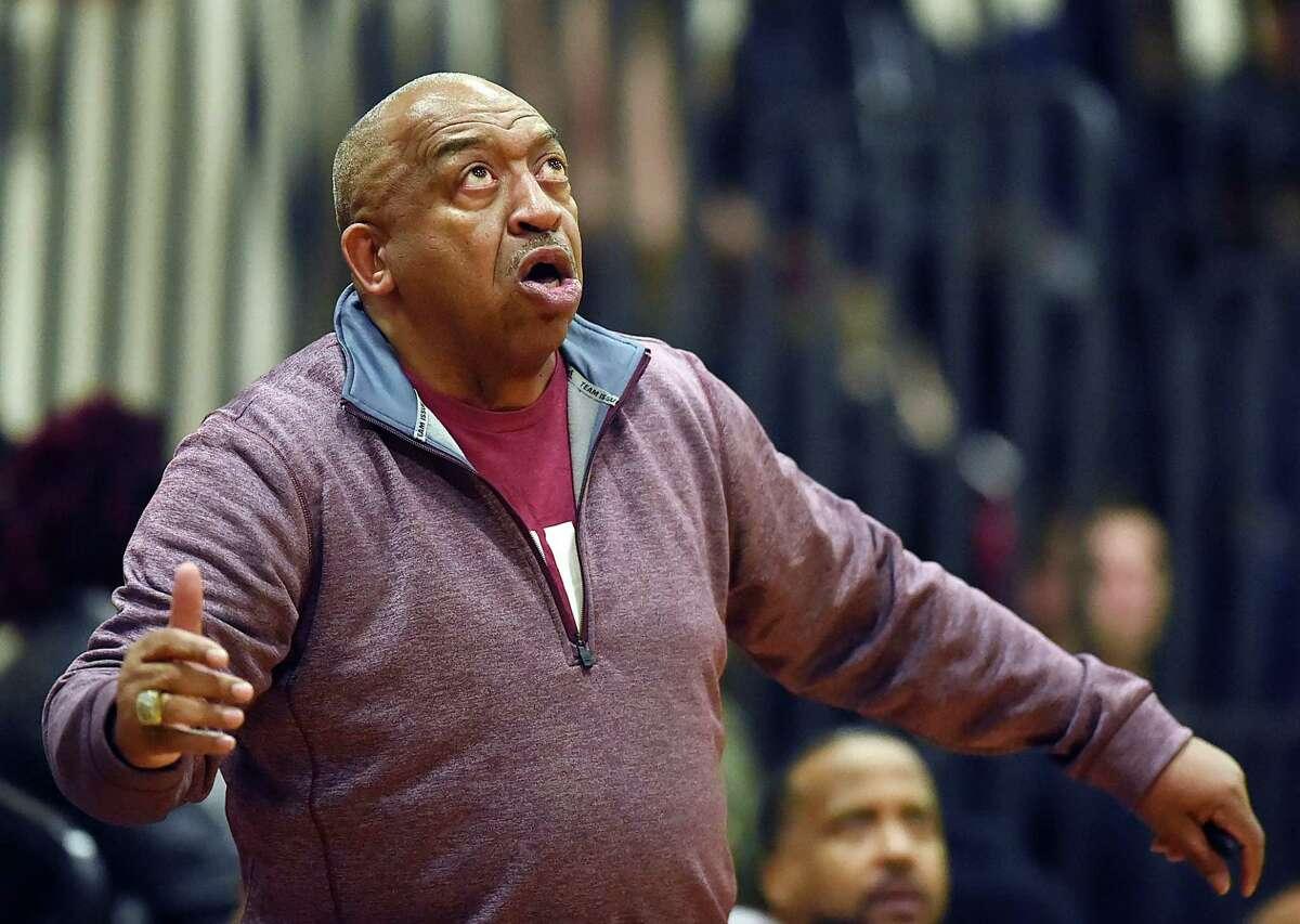 Windsor boys basketball coach Ken Smith.