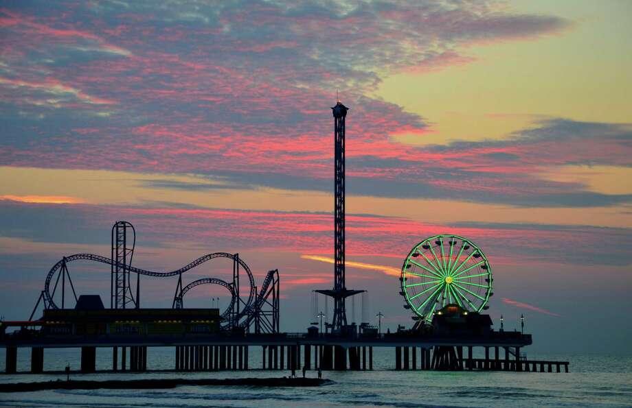 Galveston Island Historic Pleasure Pier. Photo: Landrys