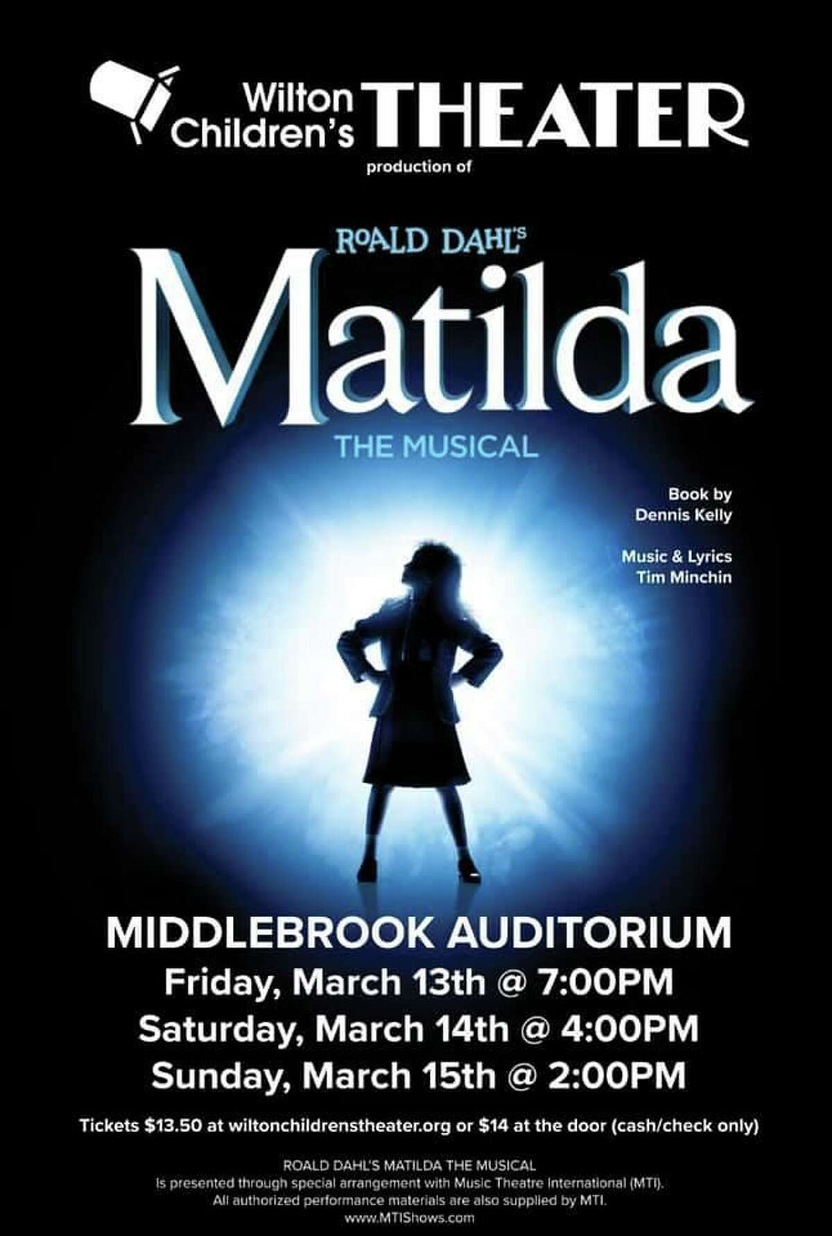 The Wilton Children's Theater family was devastated when its spring show, Matilda, was indefinitely postponed two days before opening night in March.