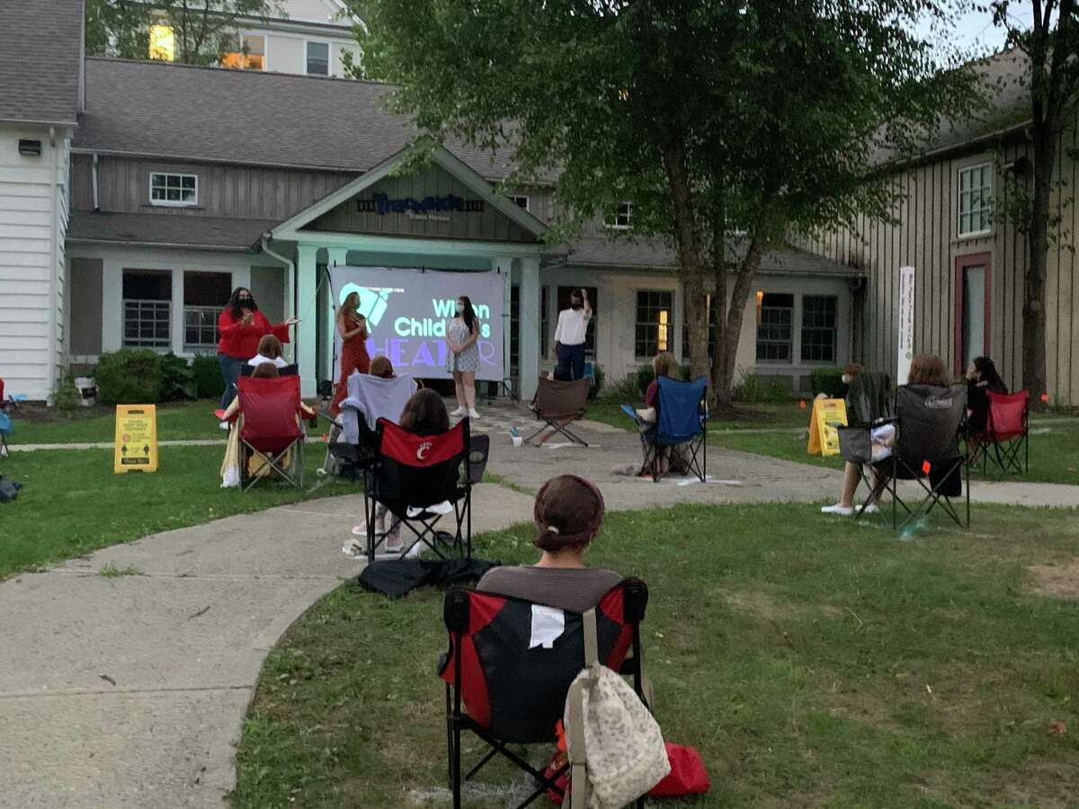 """The Wilton Children's Theater has found creative ways to perform, and work together throughout the coronavirus pandemic, such as outside at the Trackside Teen Center in Wilton. The next movie night at the center is Saturday, May 8, from 7 to 9 p.m., with """"May The 8th Be With You! Star Wars"""" Movie Night."""